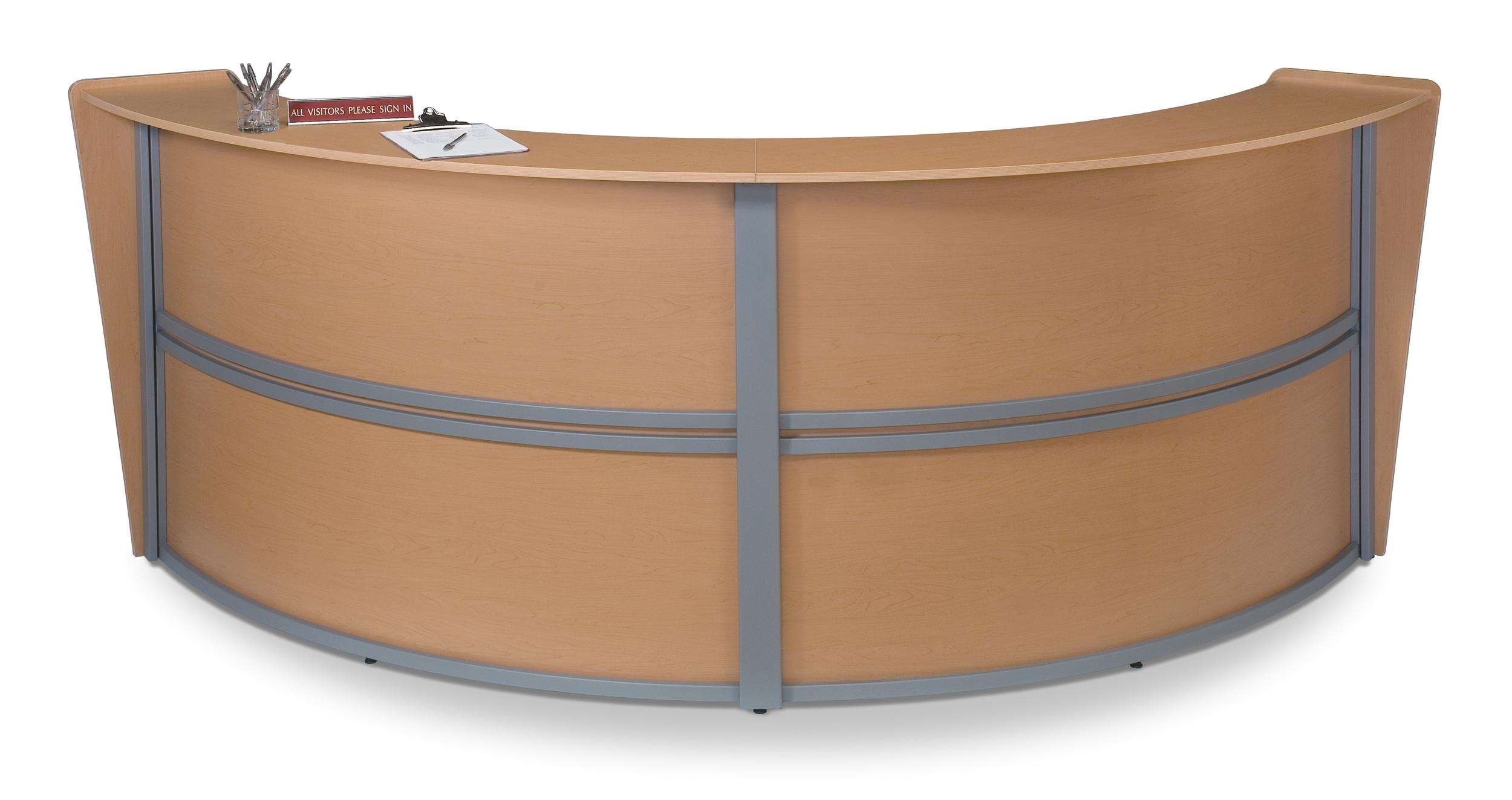 Desk reception design