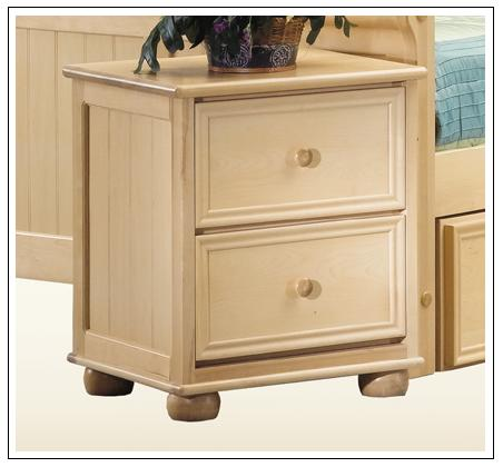 Furniture Bedroom Furniture Nightstand White Beadboard Panel Nightstand