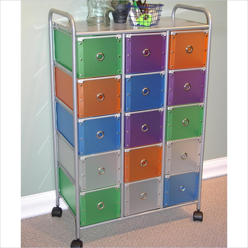 4D Concepts 15 Drawer Rolling Storage Chest 363025 Best Price