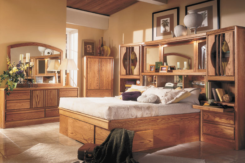 wall unit bedroom sets