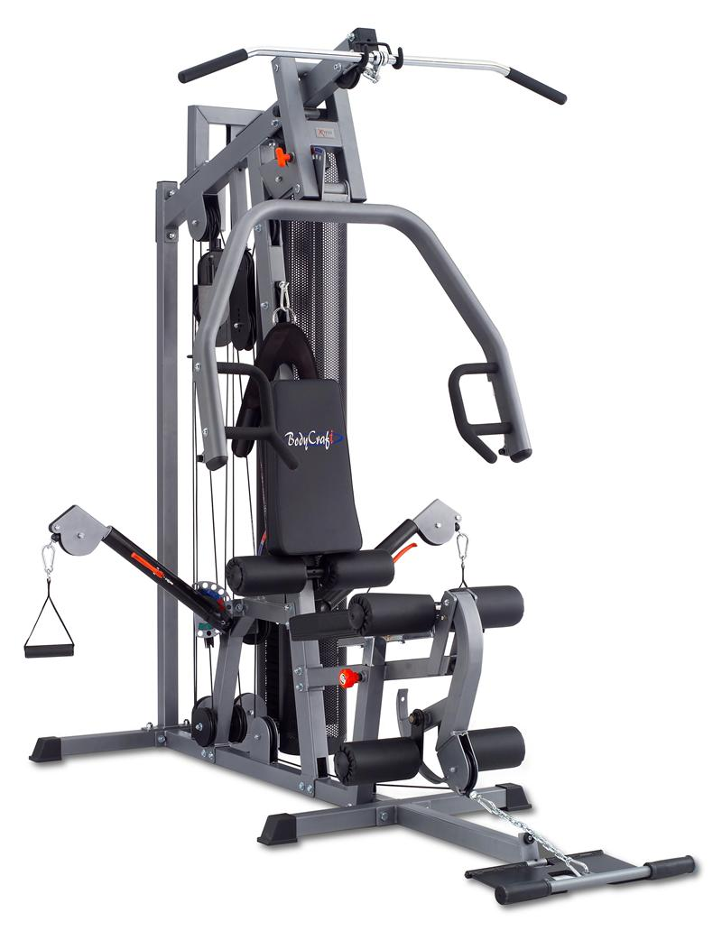 BodyCraft Xpress Pro Single Stack Gym with Functional Arms