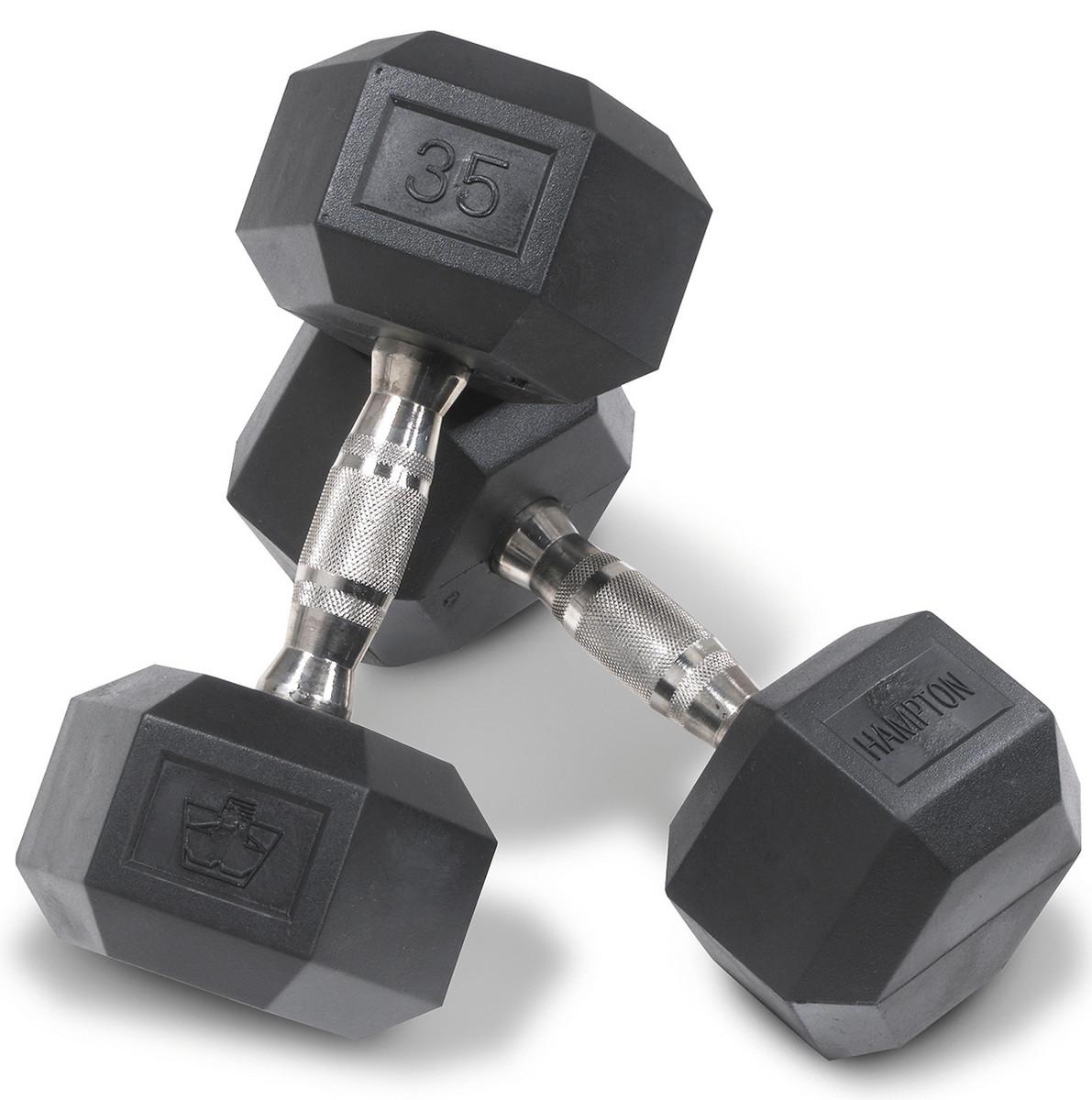 Hampton Fitness 5 - 50 lbs Dura-Bell Dumbbell Set