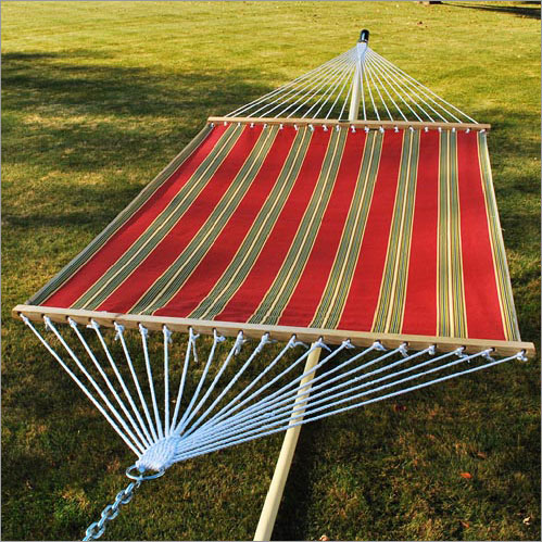 Algoma 2 Point 13 Feet Quilted Reversible Fabric Hammock