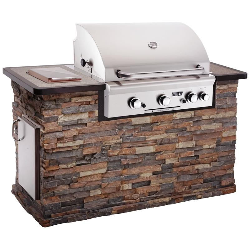 Countertop Gas Grill Outdoor : OUTDOOR GRILLS - GRILLING TIPS RECIPES FROM GRILL MASTERS