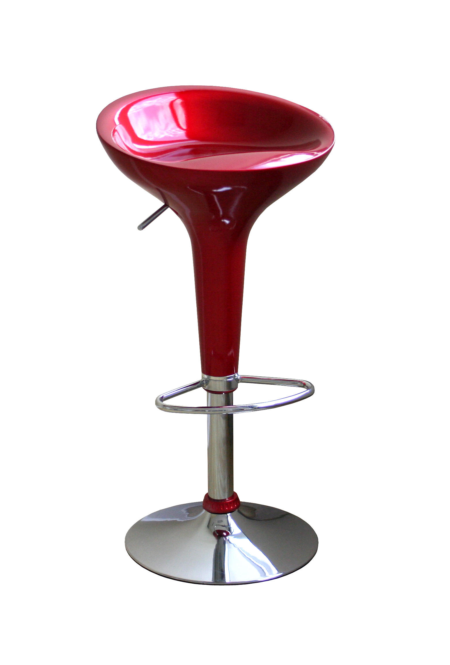 Modern Red Kitchen Stools