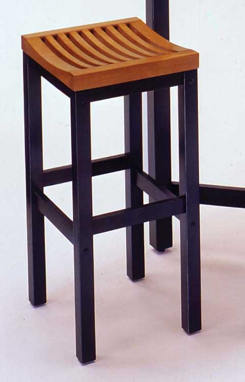 best furniture company on Home Styles Furniture Oak Top With Black Base Bar Stool  5644 88
