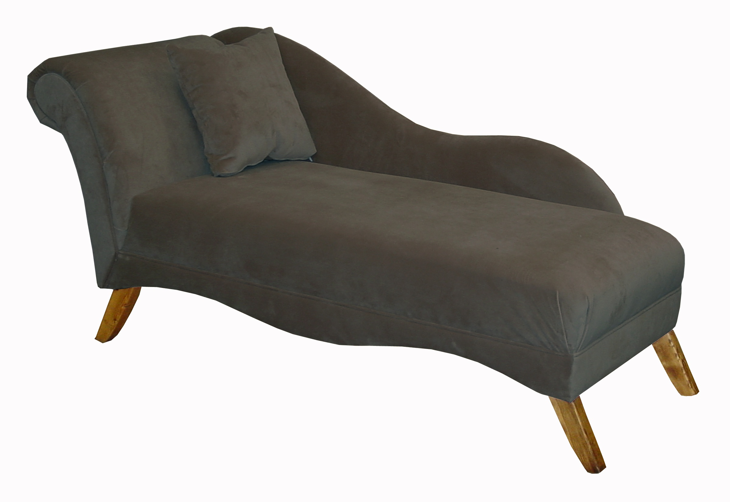 Velvet chaise lounge chair furniture gt living room for Chaise lounge bench