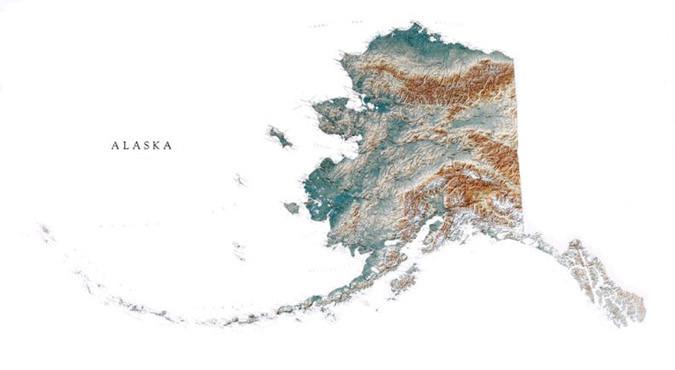 Raven Maps & Images Alaska