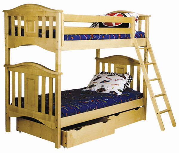 Bolton Furniture Lyndon Twin over Twin Bunk Bed Best Price