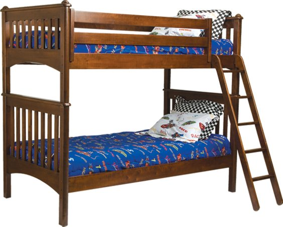 Bolton Furniture Mission Twin over Twin Bunk Bed Best Price