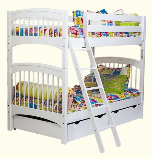 Bolton Furniture Windsor Twin over Twin Bunk Bed Best Price