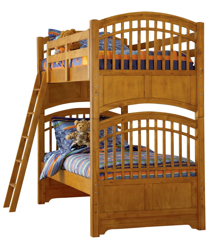 Home » Build A Bear Pawsitively Yours Kids Loft Bunk Bed In Vanilla ...