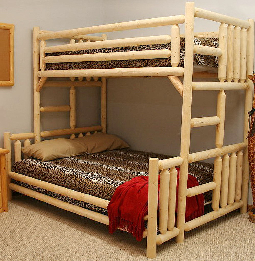 Double Bunk Bed Plans 1000 x 1023