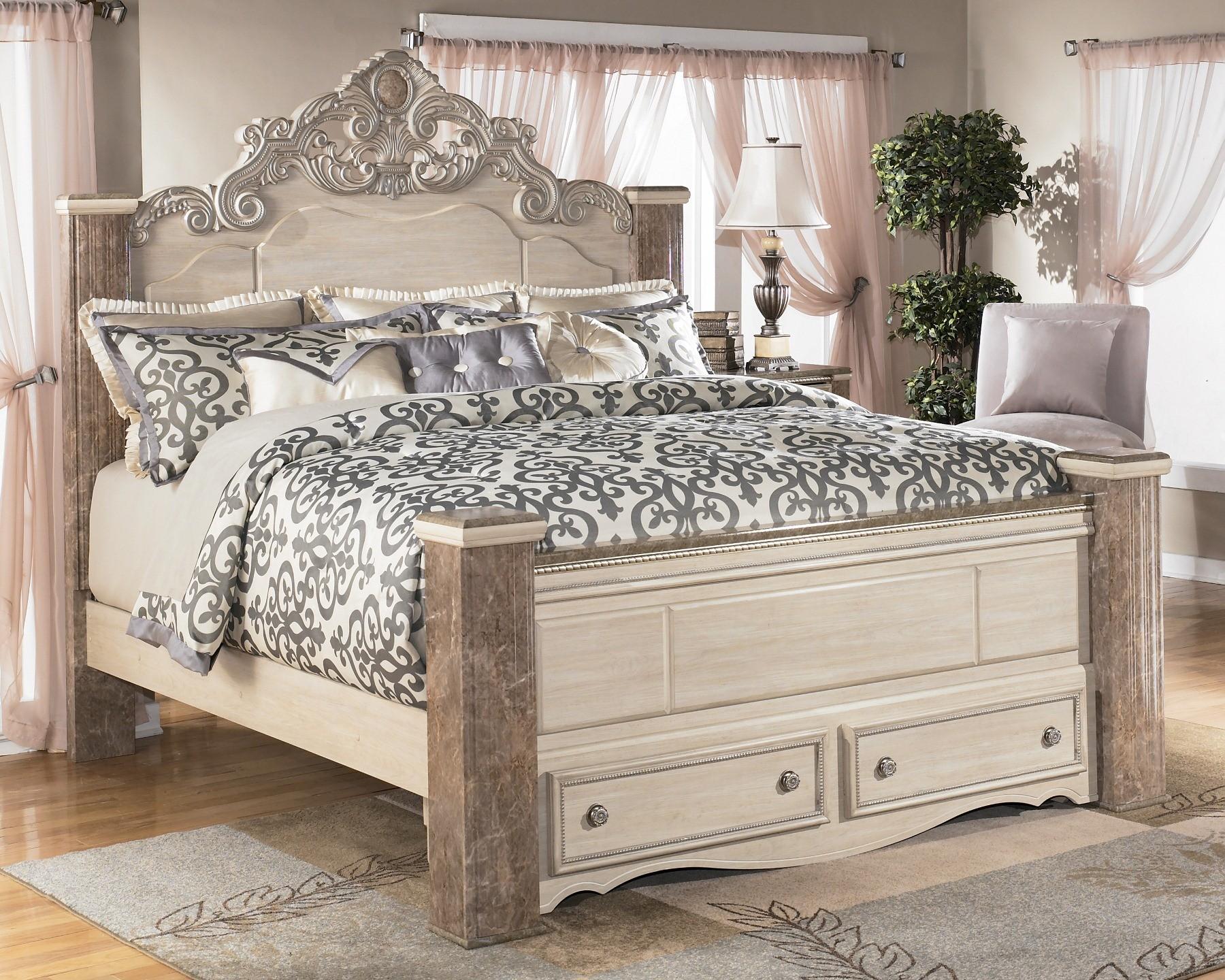 Furniture Bedroom Furniture Footboard King Poster Footboard