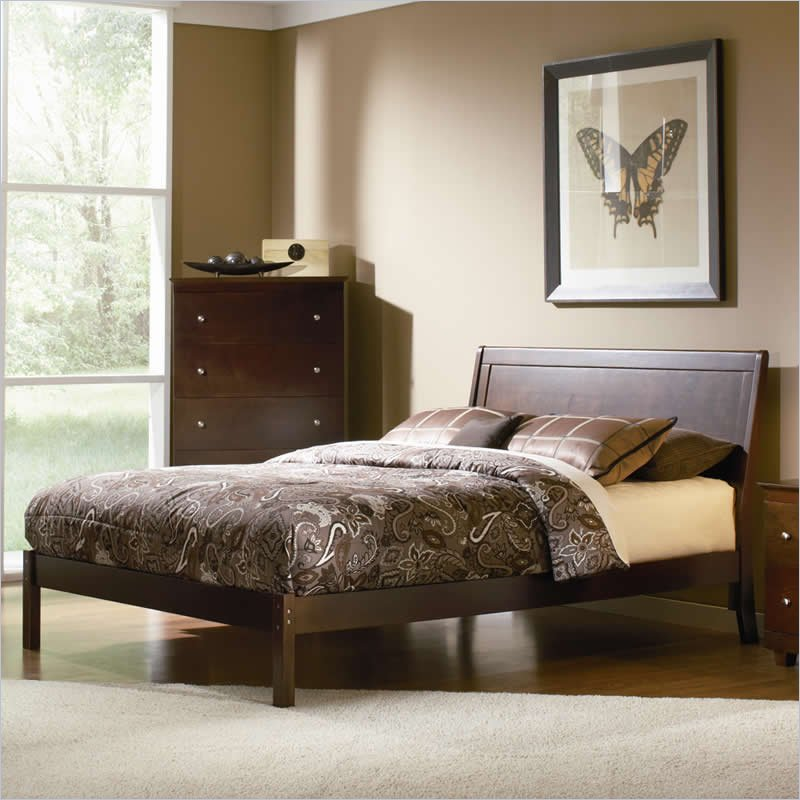 Furniture Bedroom Furniture Bed Platform Bed Open Foot Rail