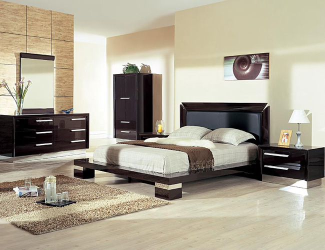 High gloss cream bedroom home design ideas and alternative for Cream furniture bedroom ideas