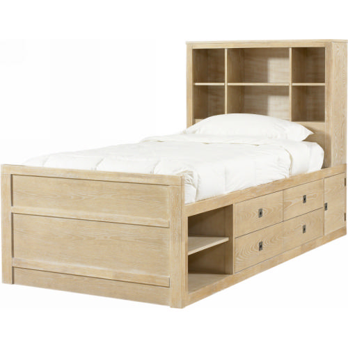 how to build a twin platform bed with storage | Easy Woodworking Plans