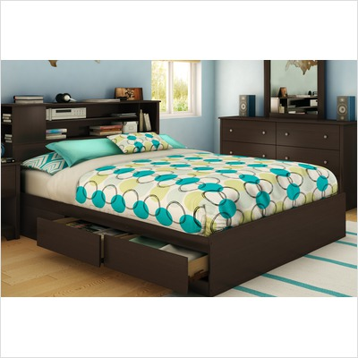 South Shore Chocolate Vito Transitional Queen Mates Bed (60\\ ) Best Price
