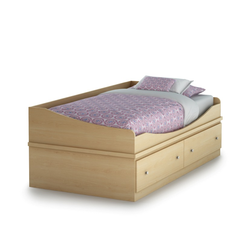 South Shore Maple Transitional Twin Mates Bed (39\\ ) Best Price