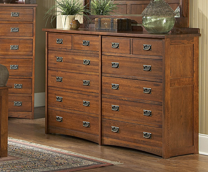 12 Drawer Chest ~ Furniture gt bedroom drawer mission