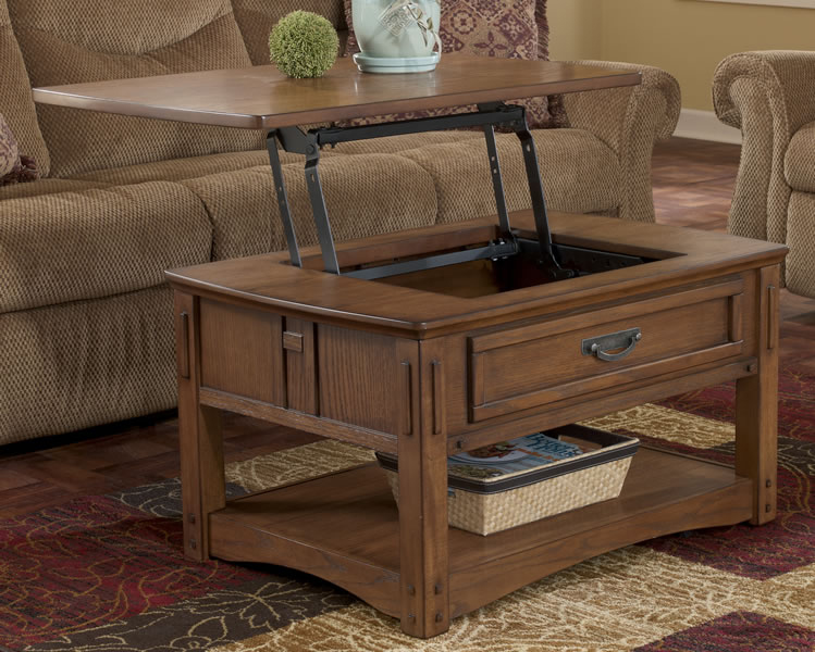 Foyer Table Ashley Furniture : Furniture gt living room table oak hall