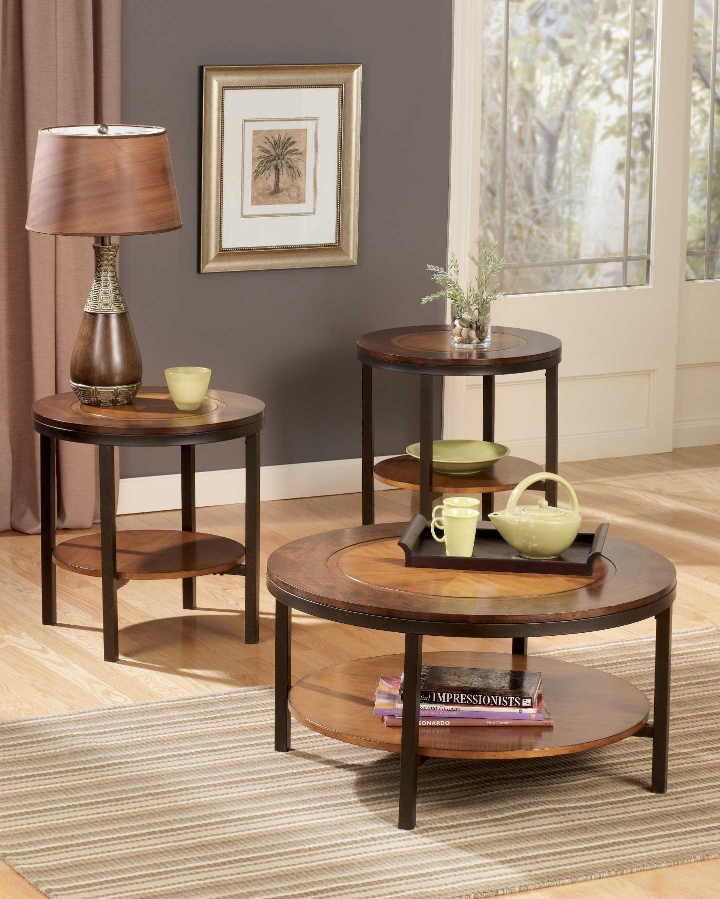 Furniture Living Room Furniture Wood Triad Wood