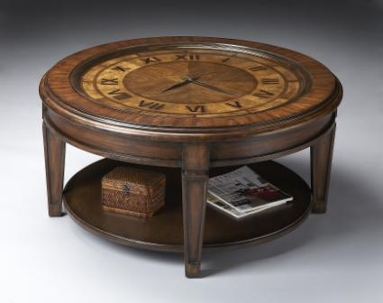 Furniture living room furniture clock cocktail clock Coffee table with clock