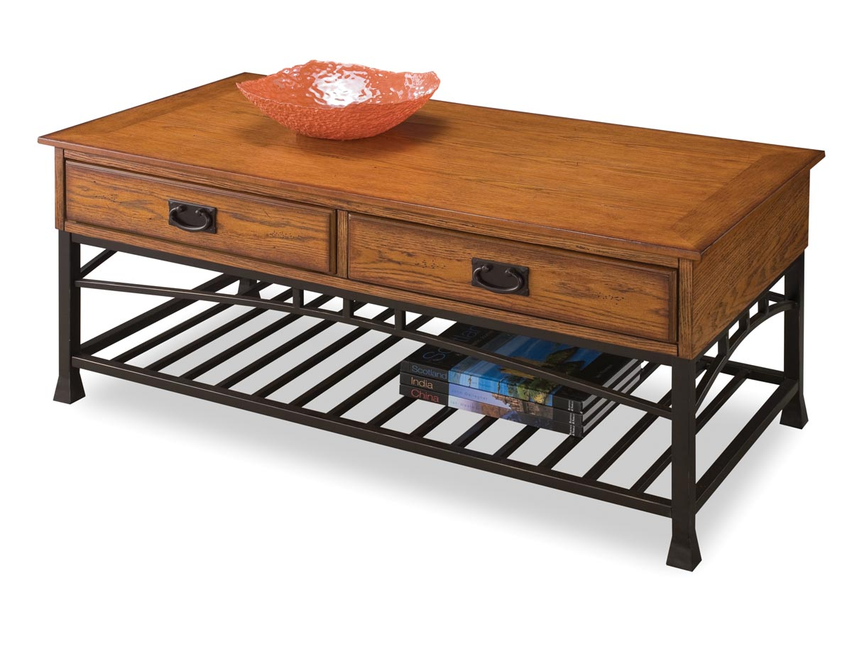 Furniture Modern Craftsman Distressed Oak Coffee Table Coffee Table 0