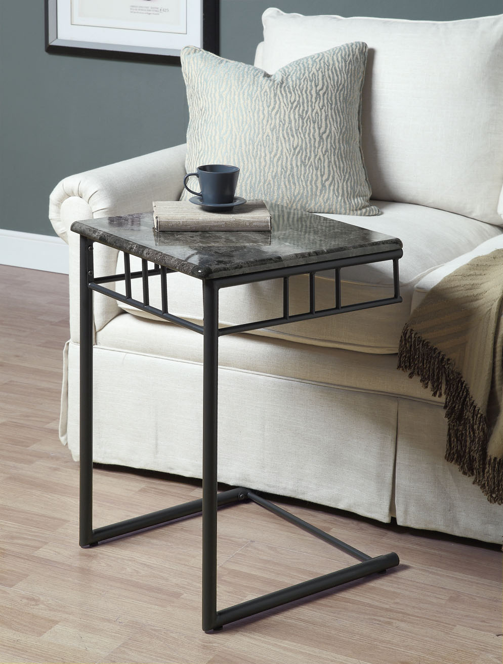 Furniture Living Room Furniture Table Gray Charcoal Tables