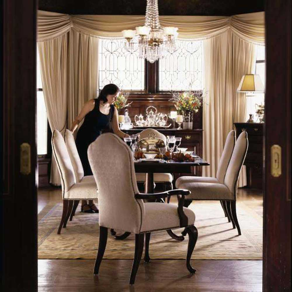 kincaid dining room chairs chair pads amp cushions