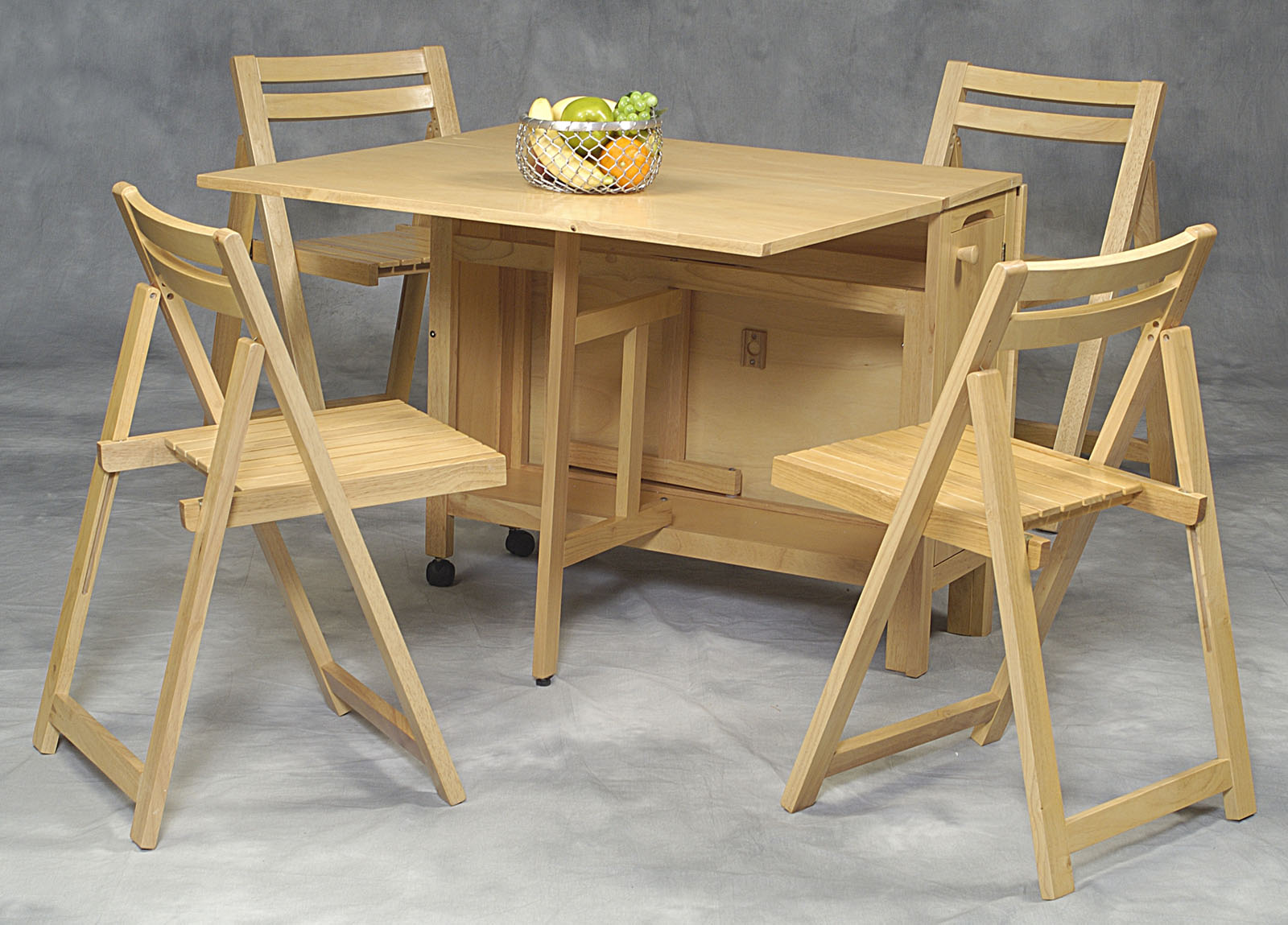 Space Saver 5 Piece Table And Chair Set: Space Saver 5 Piece .,Space Saver Dining Set   Blog Interiors Black