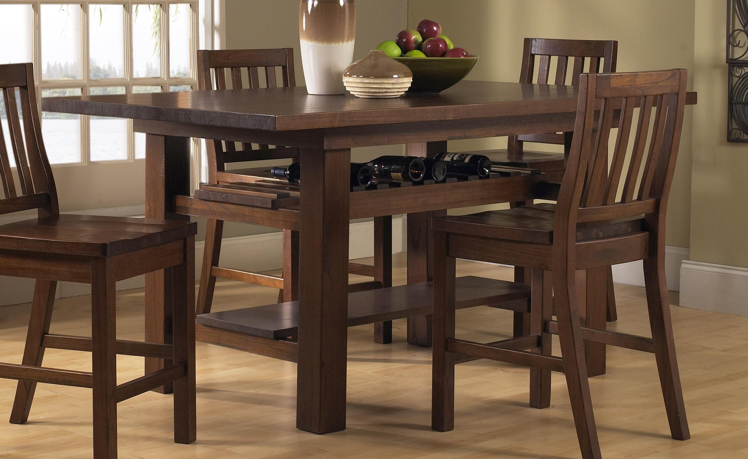 Furniture Dining Room Height Table
