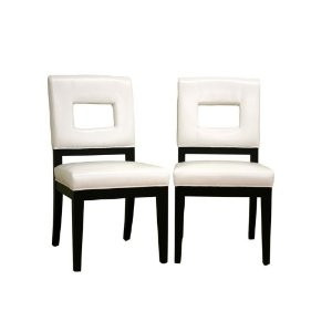 dining room furniture dining chair white leather dining ch