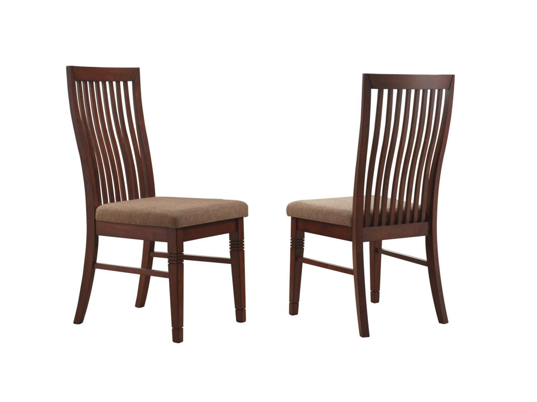 dark cherry dining side chair in set of two dining chair 0