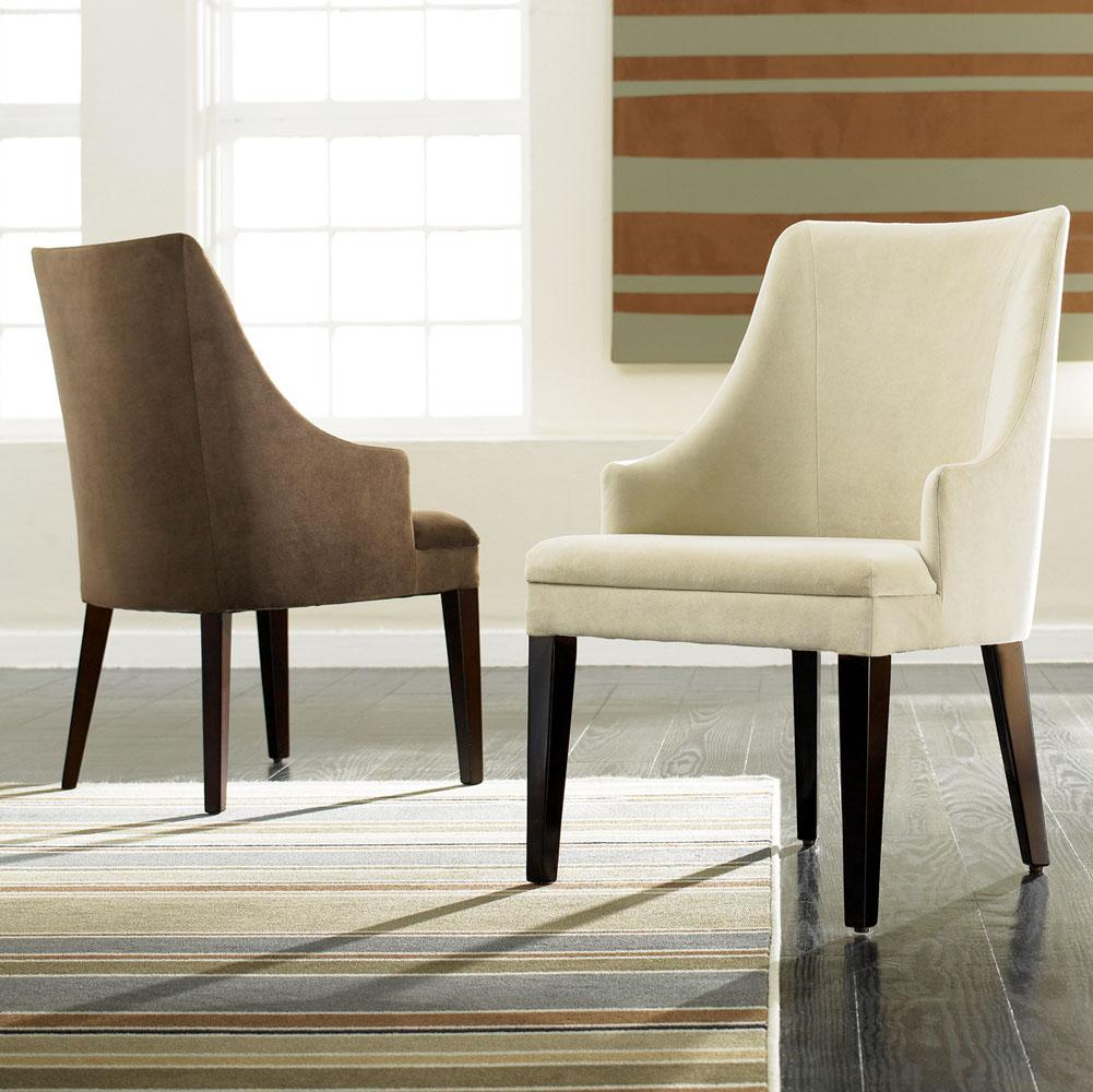 Modern Upholstered Dining Room Chairs hooker furniture dining room solana upholstered arm chair
