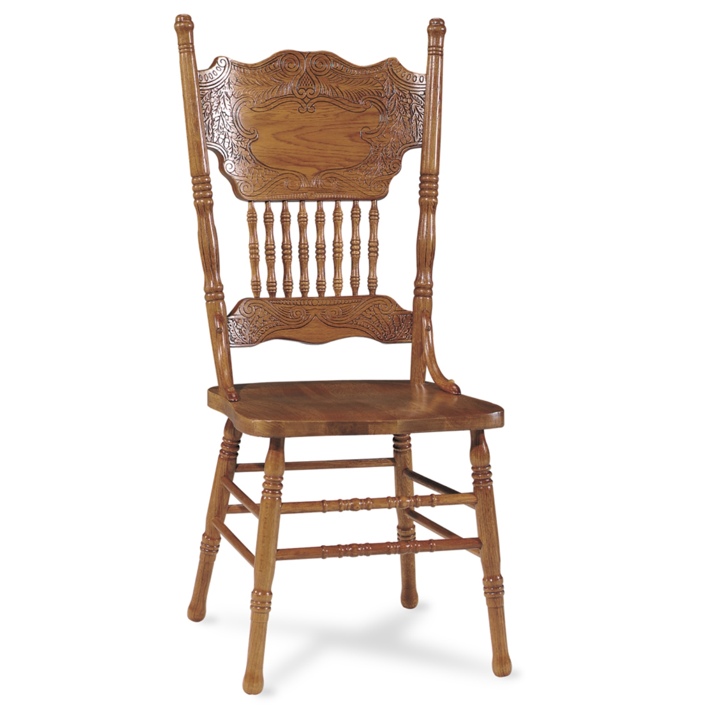 Furniture Dining Room Furniture Oak Chair Pressback Oak Chair