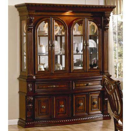 Furniture gt Dining Room China Cabinet Oak
