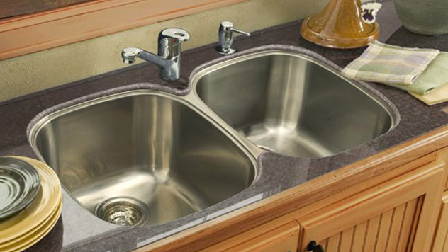 steel sinks home depot
