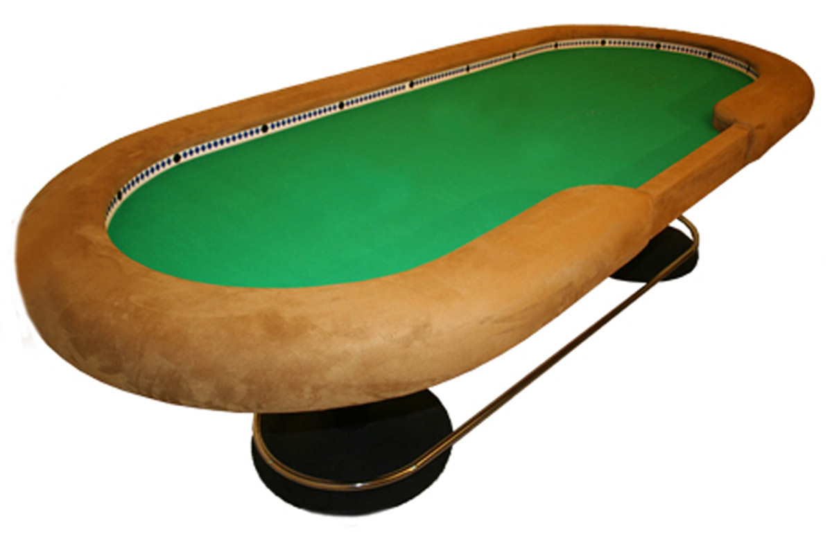 high poker table