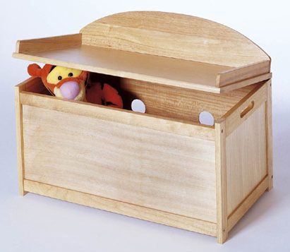 Furniture Kids Furniture Toy Chest Solid Beechwood Kids Toy Chest