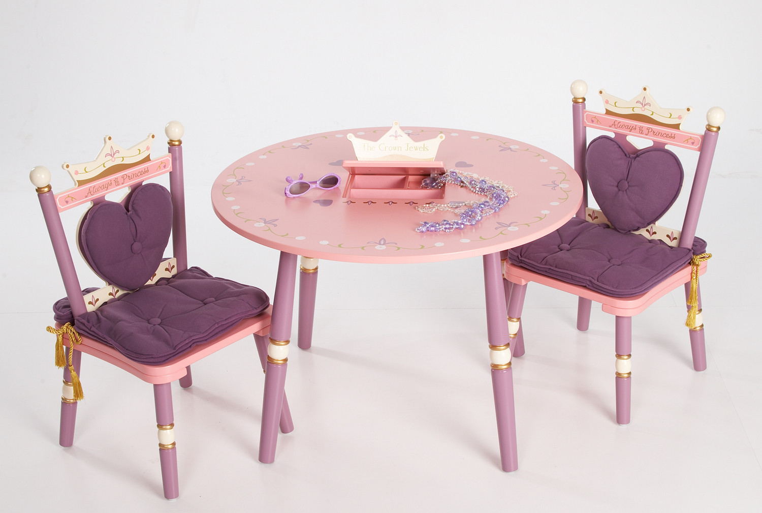 Furniture kids furniture table order girls princess - Table enfant avec chaise ...