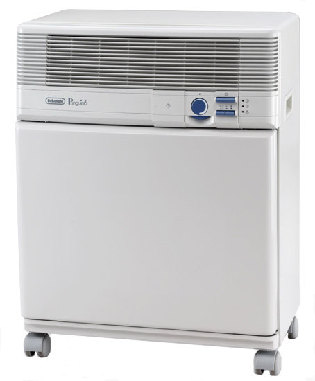 A Powerful machine that includes a 8,000 BTU portable air conditioner, 50 pint dehumidifier, and 3-speed fan. Features evaporative technology that reduces moisture