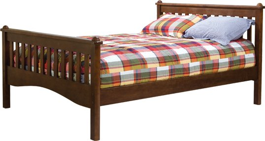 Bolton Furniture Mission Cherry Finish Kids Bed Best Price