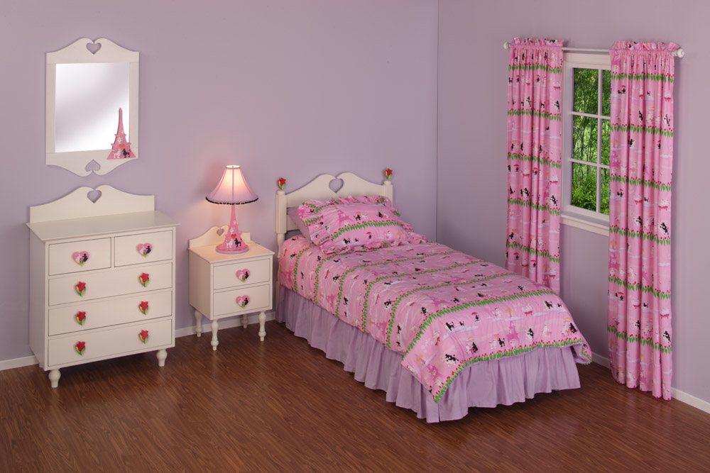 Furniture Bedroom Furniture Twin Paris Twin