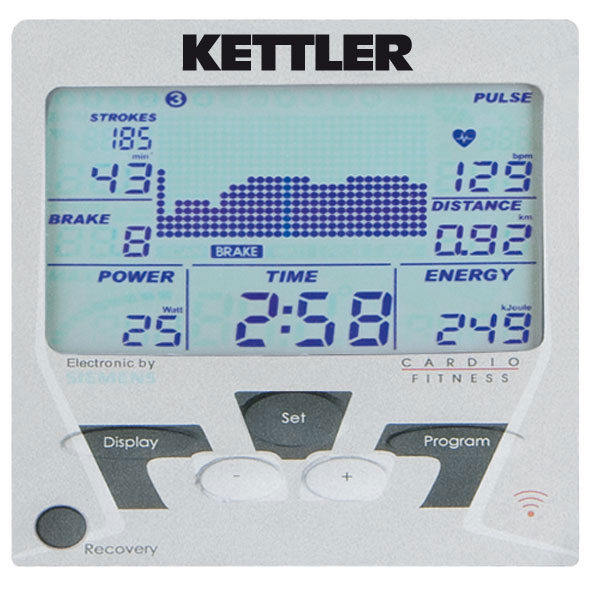 kettler ergo coach rowing machine 0 0 Kettler Ergo Coach LS Rowing Machine   With Folding Option and FREE Shipping