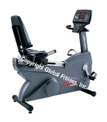 Life Fitness Remanufactured 9500RHRNG Recumbent Bike Next Gen
