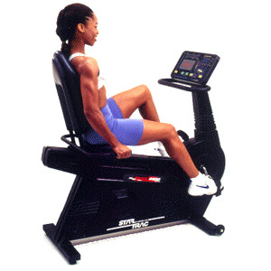 Star Trac Star Trac 4400 HR Recumbent Bike Recumbent Bike 0 0 You Are Able To Exercise Even If You Are Obese
