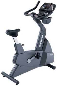 Life Fitness Remanufactured Lifecycle 9500 Next Gen Upright Bike