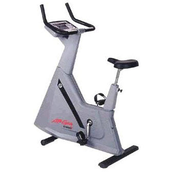 Life Fitness 9500HRT Remanufactured Upright Bike with Belt Drive
