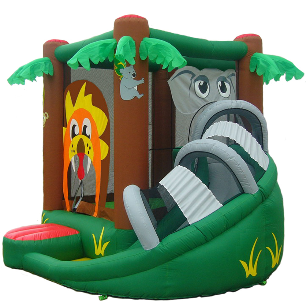 Kidwise SAFARI BOUNCER WITH SLIDE Bounce House 0 0 Kidwise SAFARI BOUNCER WITH SLIDE